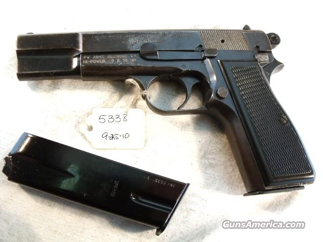 FN Browning 9mm Hi-Power Israeli Good 1967 w/2 Magazines HiPower High Power Belgian Belgium   Guns > Pistols > FNH - Fabrique Nationale (FN) Pistols > High Power Type