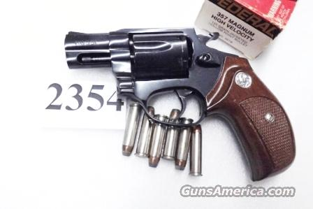 Rossi .357 Magnum model 461 Blue Steel 2 inch 6 Shot Excellent in Box Factory Demo Walnut Grips Discontinued S&W K Colt D Frame type R46102U  Guns > Pistols > Rossi Revolvers