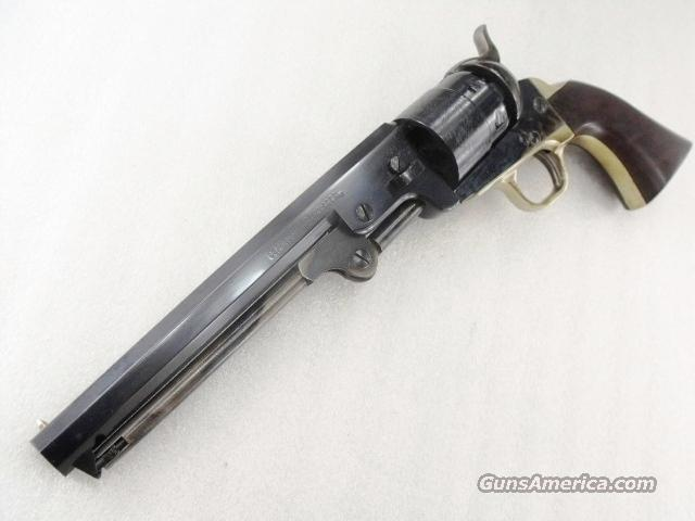 Colt 1851 Navy .44 Steel Frame Replica Traditions Pietta Blue Casehardened Walnut 7 1/2 inch Octagonal Wild Bill Hickok type Brand New in Box FR18512  Guns > Pistols > Traditions Pistols