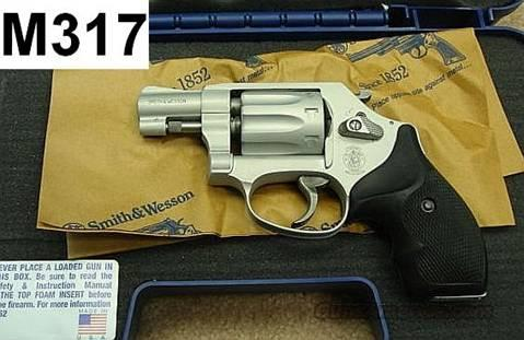 S&W 317-2 Airlite Stainless .22 LR 2 inch NIB  Guns > Pistols > Smith & Wesson Revolvers > Pocket Pistols