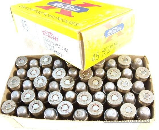 Ammo: Buford Pusser Colleague .45 ACP Nickel Reloads Vintage 1960s Box   Non-Guns > Collectible Cartridges