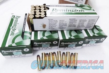 Ammo: .38 Special +P 250 Round Lot of 5 Boxes Remington UMC 125 grain JHP Jacketed Hollow Point High Performance 38 Spl Brass Case US Made Ammunition Cartridges 5x$19.90 = $99 plus $15 ship   Non-Guns > Ammunition