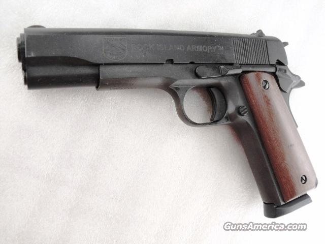 Rock Island 1911A1 .45 ACP Armscor Government 5 inch Parkerized NIB 45 Automatic   Guns > Pistols > Armscor Pistols
