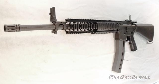 Colt .22 LR Umarex AR15 Lookalike 21.5 inch 30 Shot M16 Walther Germany mfg Clone Quad Rail 22 Long Rifle Military Trainer SP1 Vietnam type Buttstock   Guns > Rifles > Walther Rifles