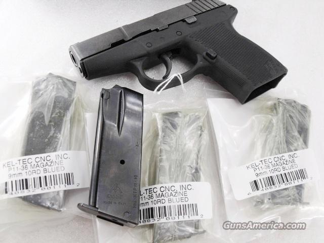 Lots of 3 or more Magazine for Kel-Tec 9mm model P11 Blue New Factory 10 Shot 9mm Automatic P=11 New Factory Kel Tec Tech Teck $29 per on 3 or more  Non-Guns > Magazines & Clips > Pistol Magazines > Other