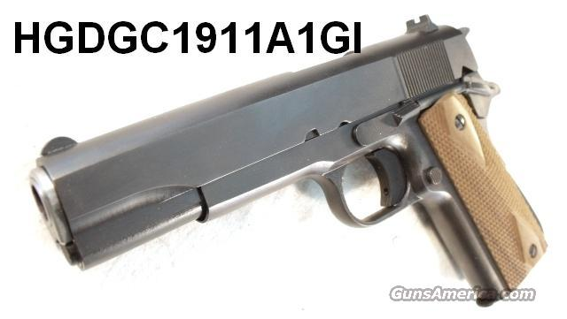 C.O. Arms 1911A1 .45 ACP 2 Magazines 9 Shot Test Fired Only CO Arms Colt Government type   Guns > Pistols > Military Misc. Pistols US > 1911 Pattern