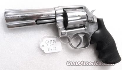 S&W .357 Magnum model 681-1 Stainless Polished 4 inch CAI Stamped 1987 Satin SS Hammer & Trigger 357 Distinguished Service Magnum Aussie   Guns > Pistols > Smith & Wesson Revolvers > Full Frame Revolver