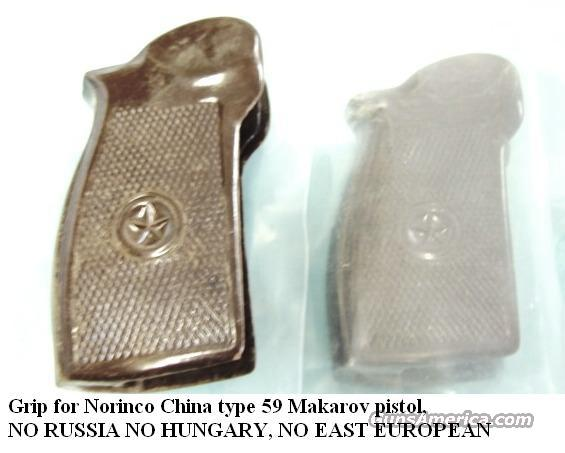 Grip Chinese Makarov type 59 Norinco New No Russian Pistols GRMAKG  Non-Guns > Gun Parts > Grips > Other