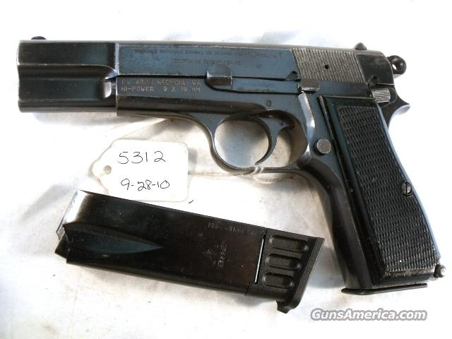 FN Browning 9mm Hi-Power Israeli G-VG 1969 w/2 Magazines  Guns > Pistols > FNH - Fabrique Nationale (FN) Pistols > High Power Type