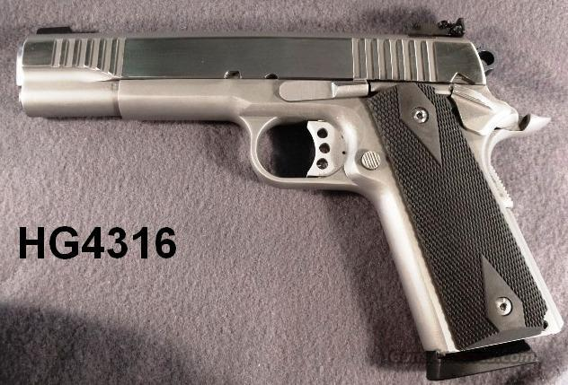 DGC 1911A1 .45 ACP  Stainless T.A.P. Gold Cup Type .45 ACP New Demo   Guns > Pistols > 1911 Pistol Copies (non-Colt)