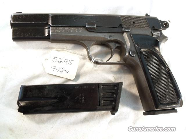 FN Browning 9mm Hi-Power Israeli G-VG 1958 Updated w/2 Magazines  Guns > Pistols > Military Misc. Pistols Non-US