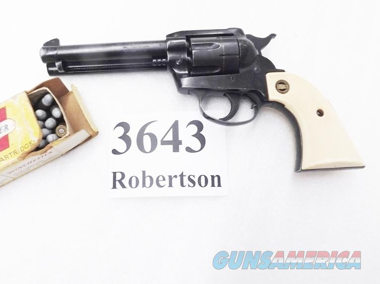 RG .32 S&W Long Rohm model RG63 Western Bisley Style Double Action 5 inch 6 Shot Germany Miami 1967 Mfg. 32 Smith & Wesson Short and Long Caliber   Guns > Pistols > FIE Pistols