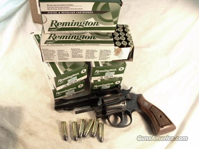 Ammo: 38 Special 500 Round Case of 10 Boxes 158 grain Round Nose Lead Remington UMC 38 Spl Ammunition Cartridges   Non-Guns > Ammunition