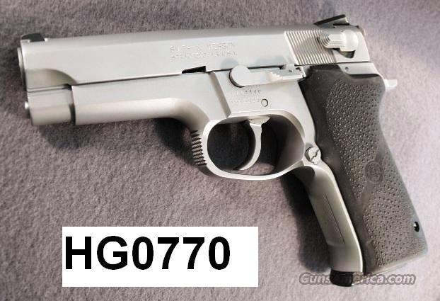 S&W 9mm Model 5906 Stainless Steel Excellent Refin 2 LE High Capacity Mags 1996 mfg  Guns > Pistols > Smith & Wesson Pistols - Autos > Steel Frame