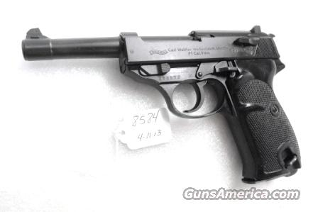 Walther 9mm P38 variant P1 Lightweight Military 1966 P-1 German Federal Border Guard BGS P-38 Descendant CA OK with 1 Factory 8 Shot Magazine  Guns > Pistols > Walther Pistols > Post WWII > P38
