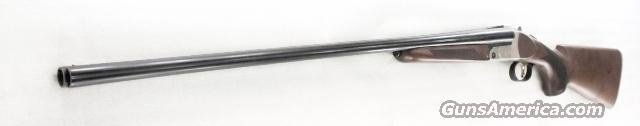 Mossberg International 28 gauge Double Barrel Silver Reserve 2 3/4 inch 26 in Single Selective Trigger Nickel Steel  Engraved Receiver New Old Stock with 5 Beretta Mobil-Choke thread Tubes Walnut Stock & Forend  Guns > Shotguns > Mossberg Shotguns > SxS