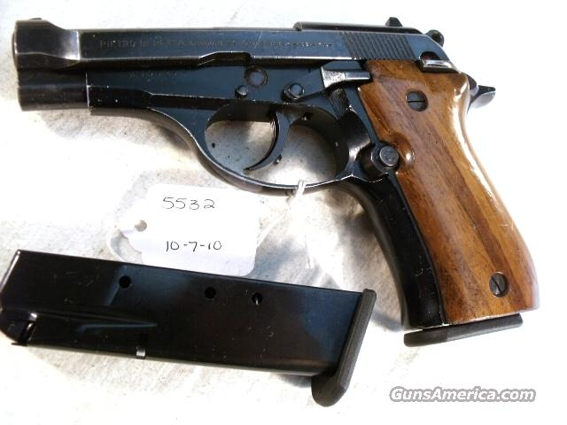 Beretta .380 Model 84 Blue 1978 Italian-Israeli VG ONE Magazine M-84 M84 84 BB W   Guns > Pistols > Beretta Pistols > Model 92 Series
