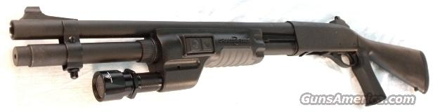 Remington 12 ga 870 P-Max Sure Fire 3 in 18 in Ghost Ring Near Mint in Box  Guns > Shotguns > Remington Shotguns  > Pump > Tactical