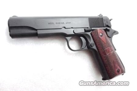 Auto Ordnance 45 ACP 1911A1 WWII Government Parkerized Wood Grips Kahr mfg NIB .45 Automatic GI World War II Type  Guns > Pistols > 1911 Pistol Copies (non-Colt)