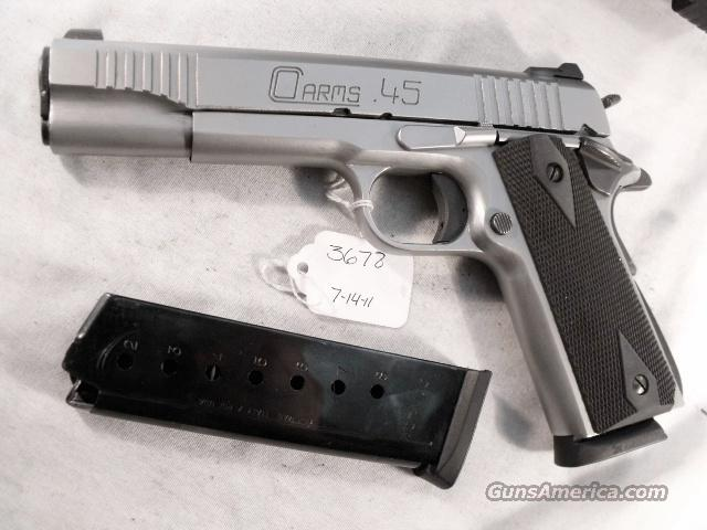 U.S. 1911A1 C.O. Arms Stainless Custom .45 ACP New Test Fired 45 Automatic CO Arms DGC Excellent in Box 2 Magazines   Guns > Pistols > Military Misc. Pistols US > 1911 Pattern
