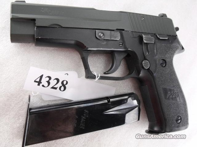 Sig 9mm P-226 Swiss Police Black Ice OD Green Teflon Slide P226 Sig Sauer all German with two Magazines CA MA OK 1999 		  Guns > Pistols > Sig - Sauer/Sigarms Pistols > P226