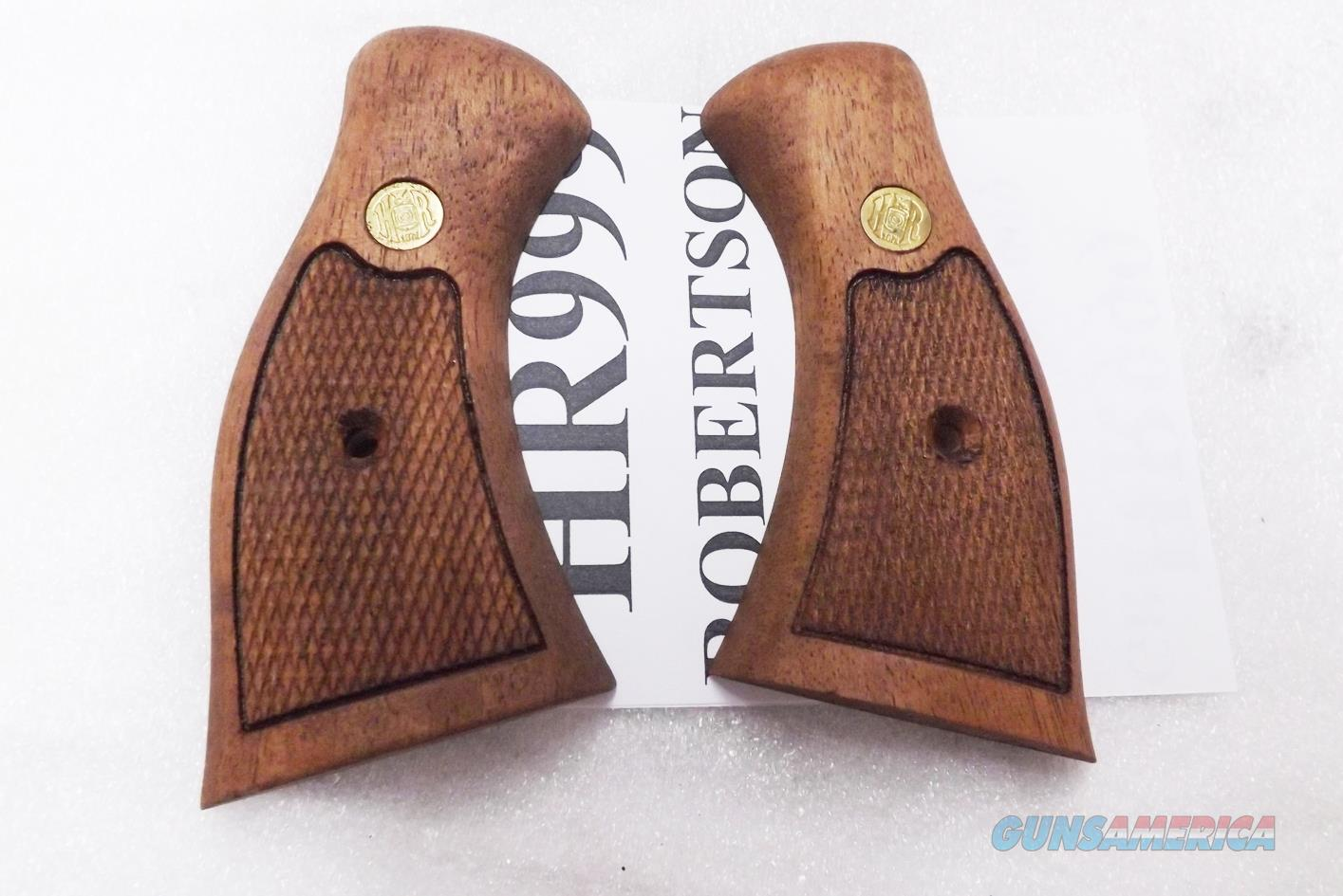 H&R Factory Walnut Grips for 926 & 999 Revolvers Harrington & Richardson Old Stock 1990s Production  Non-Guns > Gun Parts > Grips > Other