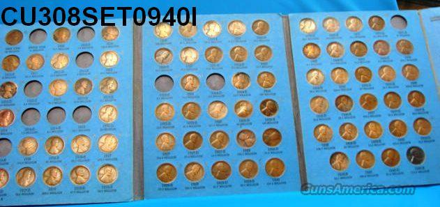 Coins US Lincoln Set 1909-40 Less 11 Coins   Non-Guns > Coins
