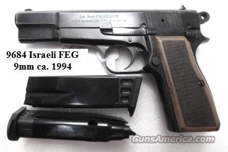 FEG 9mm Hi-Power Israeli VG 1994 Production High Power Clone with 2 New Mec-Gar Magazines PJK9HP Type   Guns > Pistols > FEG Pistols