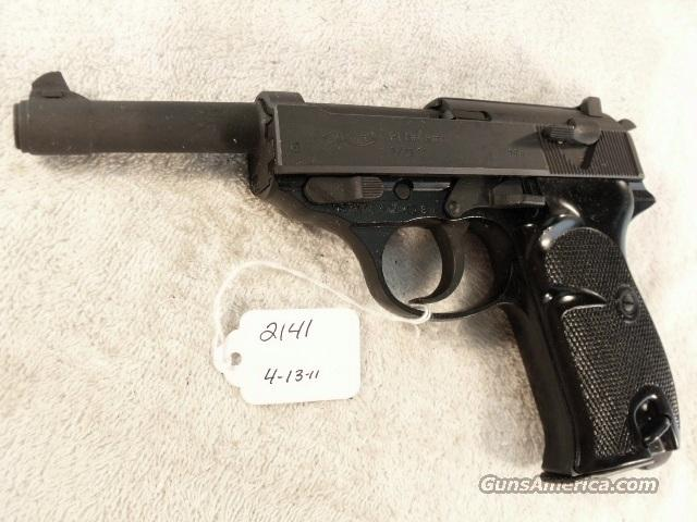 Walther 9mm P-38 variant P1 Lightweight Parkerized Steel Excellent 1978 P38 P-1 Federal German Police Bundespolizei CA OK  Guns > Pistols > Walther Pistols > Post WWII > Large Frame Autos