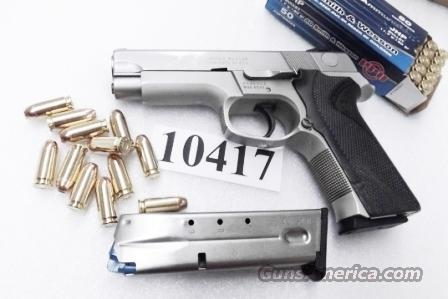 Smith & Wesson .40 S&W 12 shot model 4043 Stainless Alloy 2 Magazines 1996 PA 108528   Guns > Pistols > Smith & Wesson Pistols - Autos > Alloy Frame