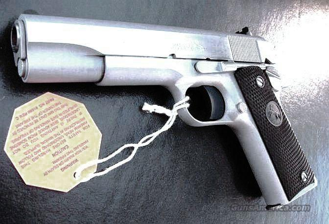 Colt .45 ACP Government Stainless M1991A1 NIB  Guns > Pistols > Colt Automatic Pistols (1911 & Var)