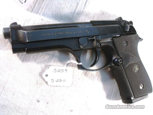 Beretta 9mm Model 92F 1990 Los Angeles County Sheriff's Department   with 1 Pre-Ban 15 Round Magazine Pachmayr 92F Grips  Guns > Pistols > Beretta Pistols > Model 92 Series