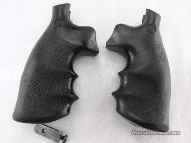 Grips S&W K or L Frame Round Butt Hogue Combat Conversion Smith & Wesson Models 10 13 19 64 65 66 686  Non-Guns > Gun Parts > Grips > Smith & Wesson
