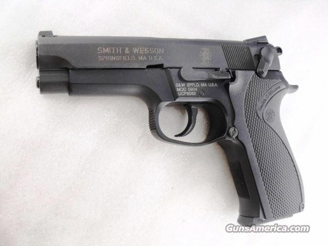 Smith & Wesson 9mm model 5904 Blue Lightweight 2000 Production New in Box with 2010 Fired Case Envelope   Guns > Pistols > Smith & Wesson Pistols - Autos > Alloy Frame