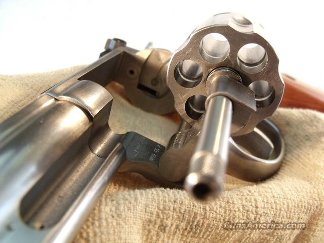 S&W .357 Mag 66-2 Stainless 6 in 3-T VG-Exc ca 1985  Guns > Pistols > Smith & Wesson Revolvers > Full Frame Revolver