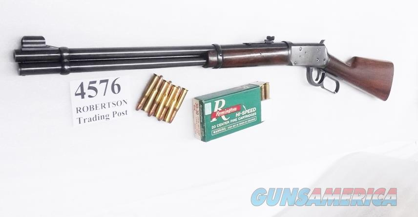 Winchester .30-30 model 1894 Blue 20 inch Walnut 1979 production 94 M94 3030 .3030 30-30  Guns > Rifles > Winchester Rifles - Modern Lever > Model 94 > Post-64