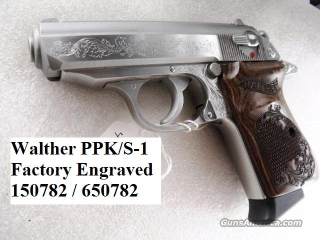 Walther PPKS 380 Factory Engraved Near Mint Box   Guns > Pistols > Walther Pistols > Post WWII > PPK Series