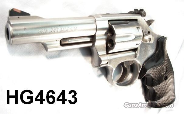 S&W .357 66-7 Sts 4 in VG 2004 CA Legal  Guns > Pistols > Smith & Wesson Revolvers > Full Frame Revolver