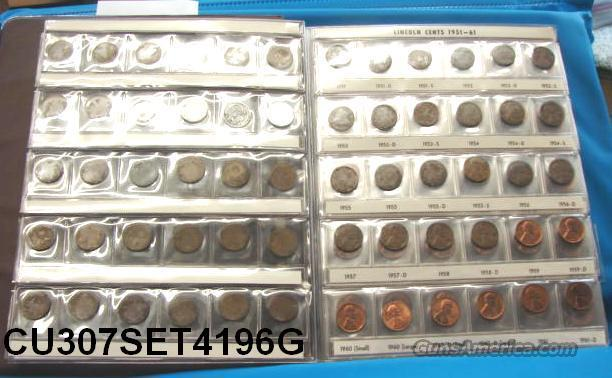 Coins US Lincoln Set 1941- 1996 Complete Except for 6 Proofs  Non-Guns > Coins