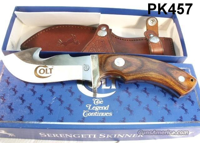 Knife Colt Serengeti Skinner Mint in Box Japan 1995  Non-Guns > Knives/Swords > Knives > Fixed Blade > Imported