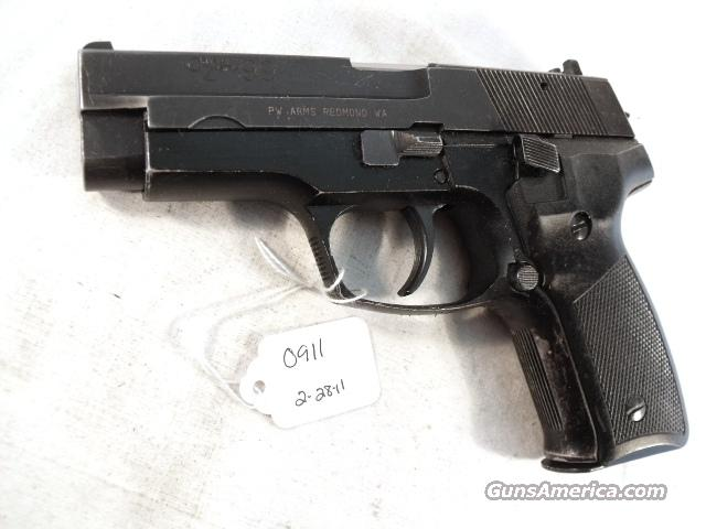 Zastava 9mm CZ99 Yugo VG  Pirated Sig Design ca 1992 CZ-99 Crvena Zastava Yugoslavia Very Good 1 Magazine Israeli Police Confiscated Weapon  Guns > Pistols > Surplus Pistols & Copies