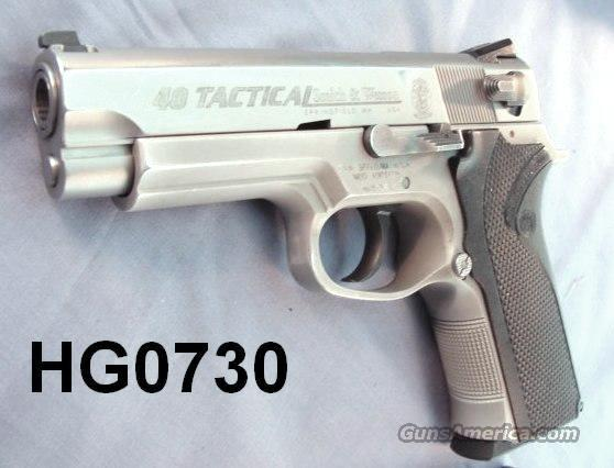 S&W .40 Tactical 4003TSW Night Sights Atl PD VG w/2 LE 11 Rd Mags  Guns > Pistols > Smith & Wesson Pistols - Autos > Alloy Frame