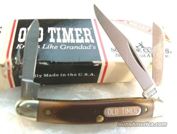 Knife Schrade USA Old Timer Small Stockman 108OT Mint in Box 1980s  Non-Guns > Knives/Swords > Knives > Folding Blade > Hand Made