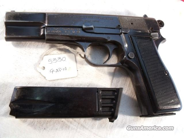 FN Browning 9mm Hi-Power Israeli Good 1967 w/2 Magazines  Guns > Pistols > Military Misc. Pistols Non-US