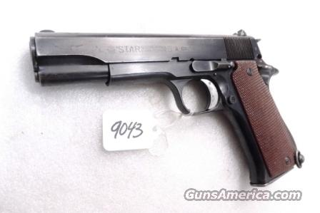 Star Spain 9mm Model BS Colt Government Size Steel Frame 1971 Israeli Police VG 1 Magazine  Guns > Pistols > Star Pistols