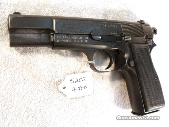 FN Browning 9mm Hi-Power Israeli Army Police ca 1948 High Power HiPower Belgian Belgium  Guns > Pistols > FNH - Fabrique Nationale (FN) Pistols > High Power Type