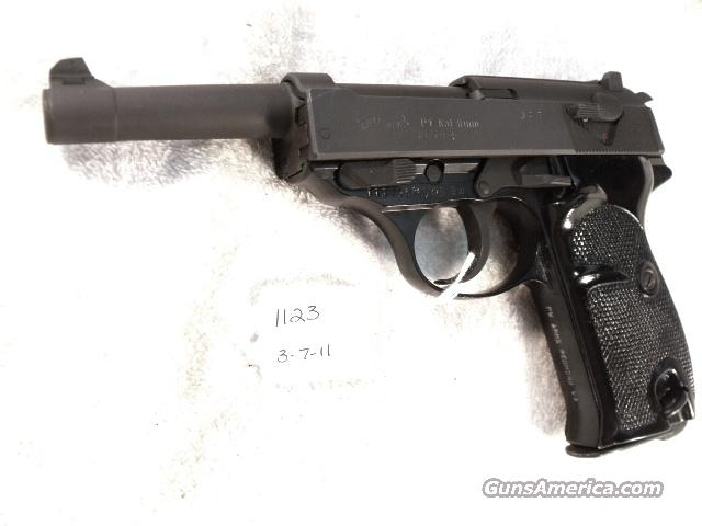 Walther 9mm P-38 variant P1 Lightweight Parkerized Steel Excellent 1979  CA OK  Guns > Pistols > Walther Pistols > Post WWII > PP Series