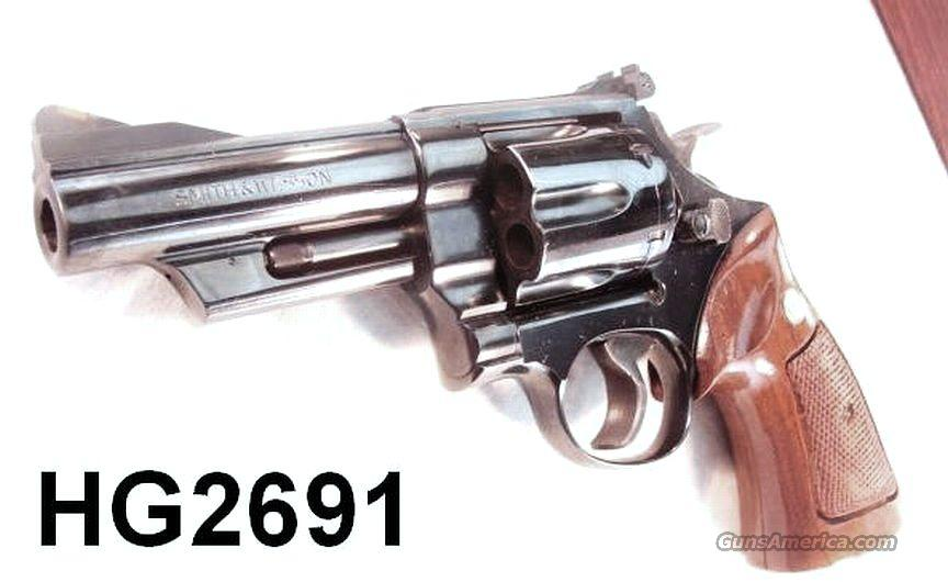 S&W .41 Magnum 57 Blue 4 in 1976 RR WO 3T Exc w/Case  Guns > Pistols > Smith & Wesson Revolvers > Full Frame Revolver
