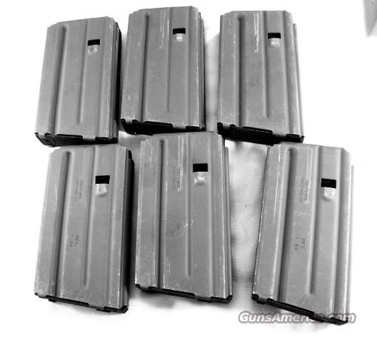 Lots of 3 or more Colt Factory Magazines .223 AR-15 Unissued 20 Round 3x$26 Factory Colt Unfired AR15 M16 R6600 LE6900 Bushmaster Kel-Tec 223 Remington 5.56 NATO Caliber   Non-Guns > Magazines & Clips > Rifle Magazines > AR-15 Type