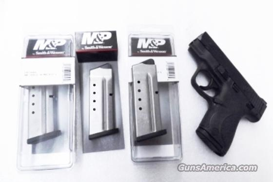 Smith & Wesson M&P Shield .40 S&W Factory 6 Shot Magazine 19933 MP40 Flat Plate   Non-Guns > Magazines & Clips > Pistol Magazines > Smith & Wesson